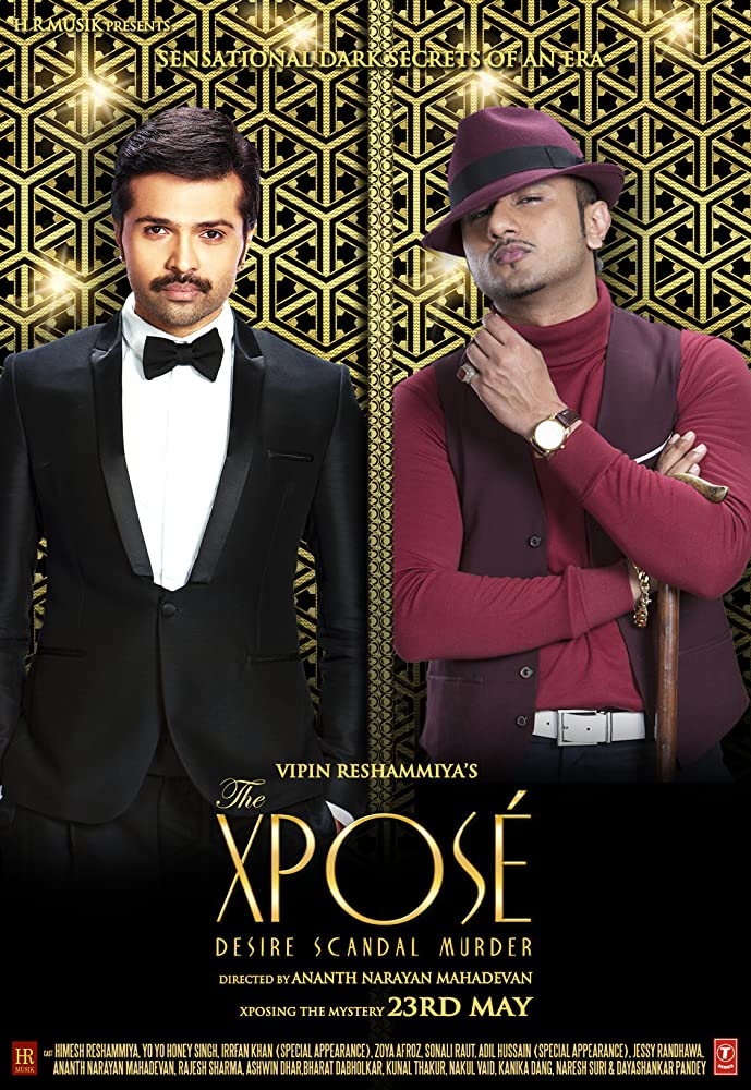 The Xpose (2014) Hindi 720p DVDRip 700MB mkv