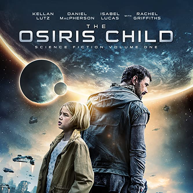 Kellan Lutz and Teagan Croft in The Osiris Child (2016)