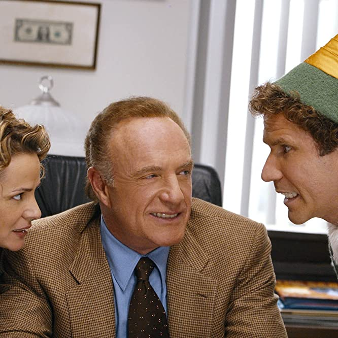 James Caan, Will Ferrell, and Amy Sedaris in Elf (2003)