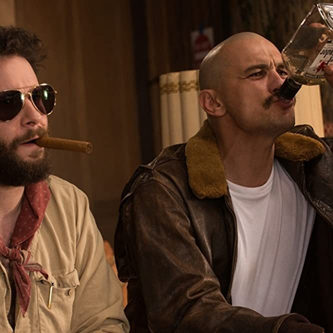 James Franco and Seth Rogen in Zeroville (2018)