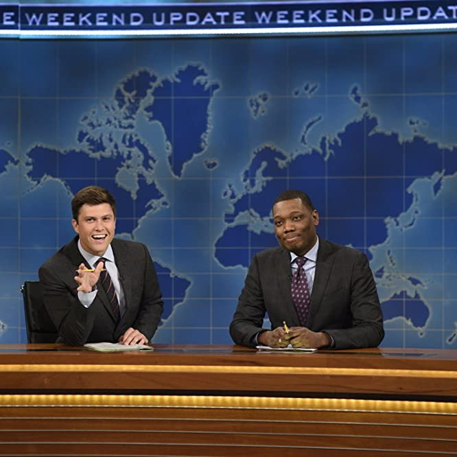 Colin Jost and Michael Che in Saturday Night Live (1975)