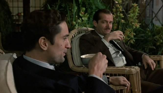 Robert De Niro Jack Nicholson