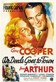 Mr. Deeds Goes to Town Poster