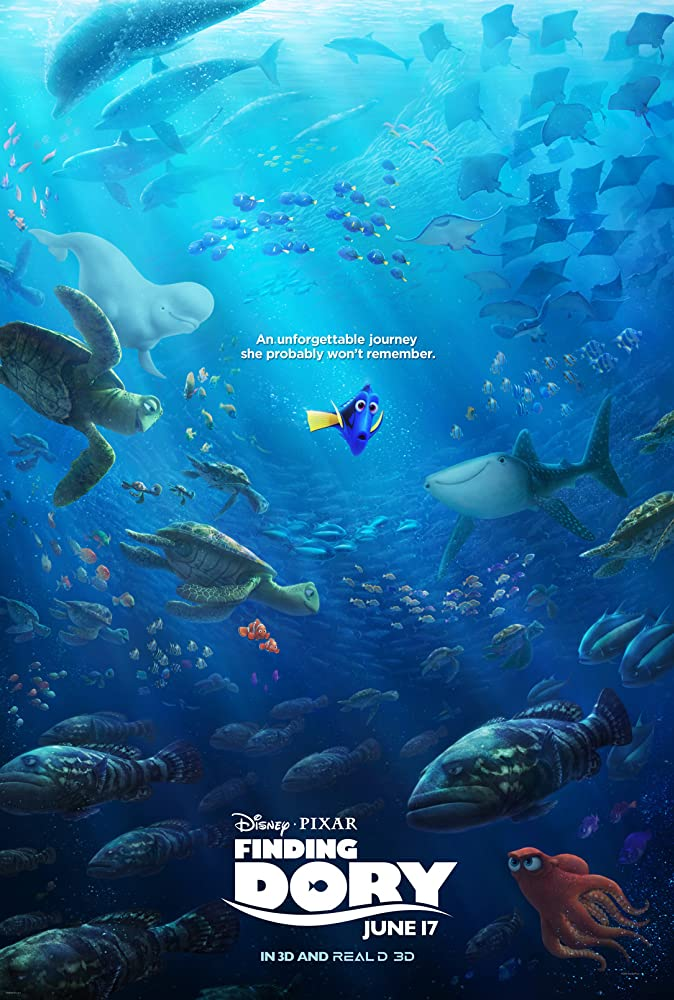 Finding Dory (2016) Full Movie Watch Online Free Download at www.movies365.in