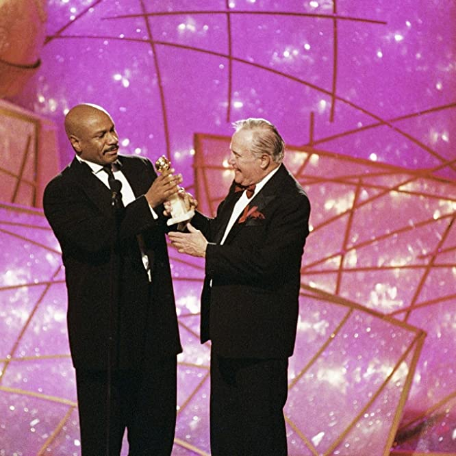 Jack Lemmon and Ving Rhames at an event for The 55th Annual Golden Globe Awards (1998)