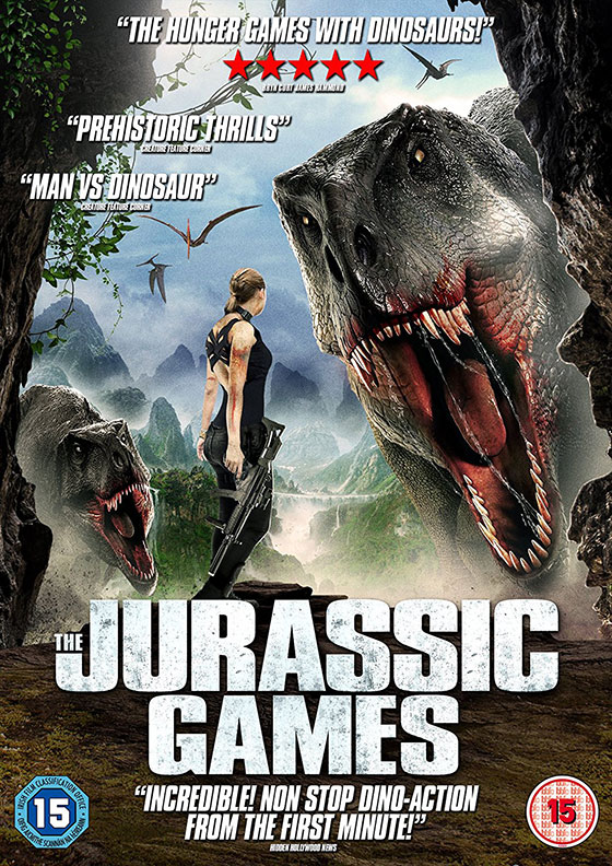 The Jurassic Games (2018) English 250MB WEB-DL 480p x264