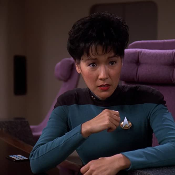 Patti Yasutake in Star Trek: The Next Generation (1987)