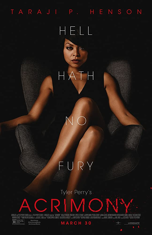 movie poster for Tyler Perry's Acrimony