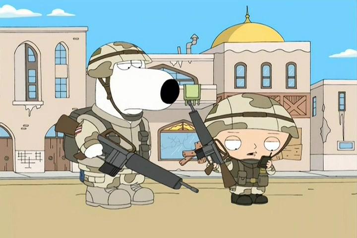 Les Griffin: Saving Private Brian | Season 5 | Episode 4