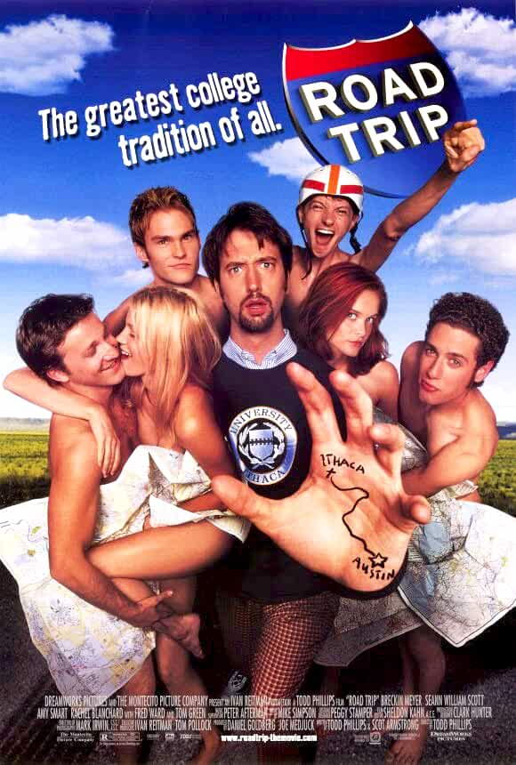 Road Trip 2000 Unrated Dual Audio Hindi 720p BluRay 700MB