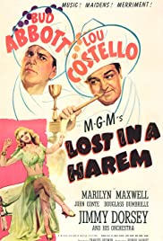 Lost in a Harem (1944) Poster - Movie Forum, Cast, Reviews