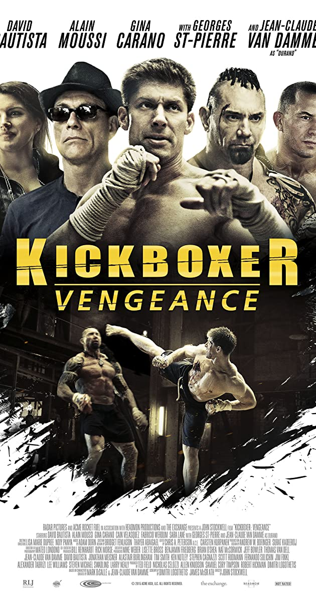 V For Vendetta Movie Cover Kickboxer: Vengeance (...