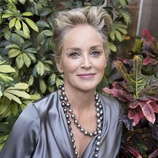 Sharon Stone at an event for Mosaic (2018)