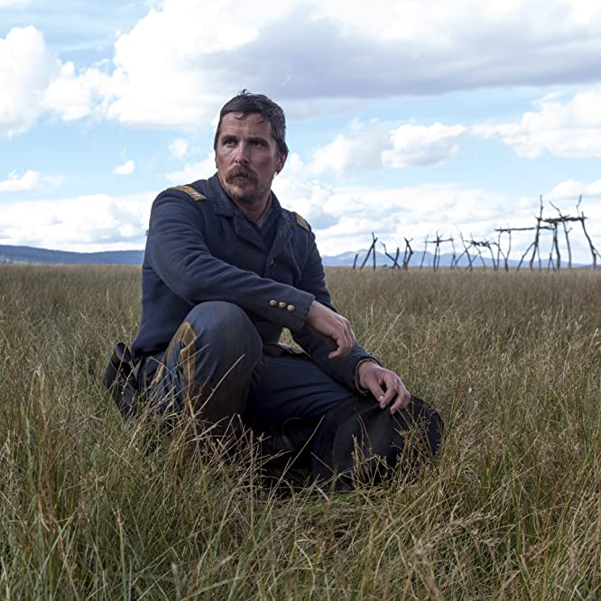 Christian Bale in Hostiles (2017)