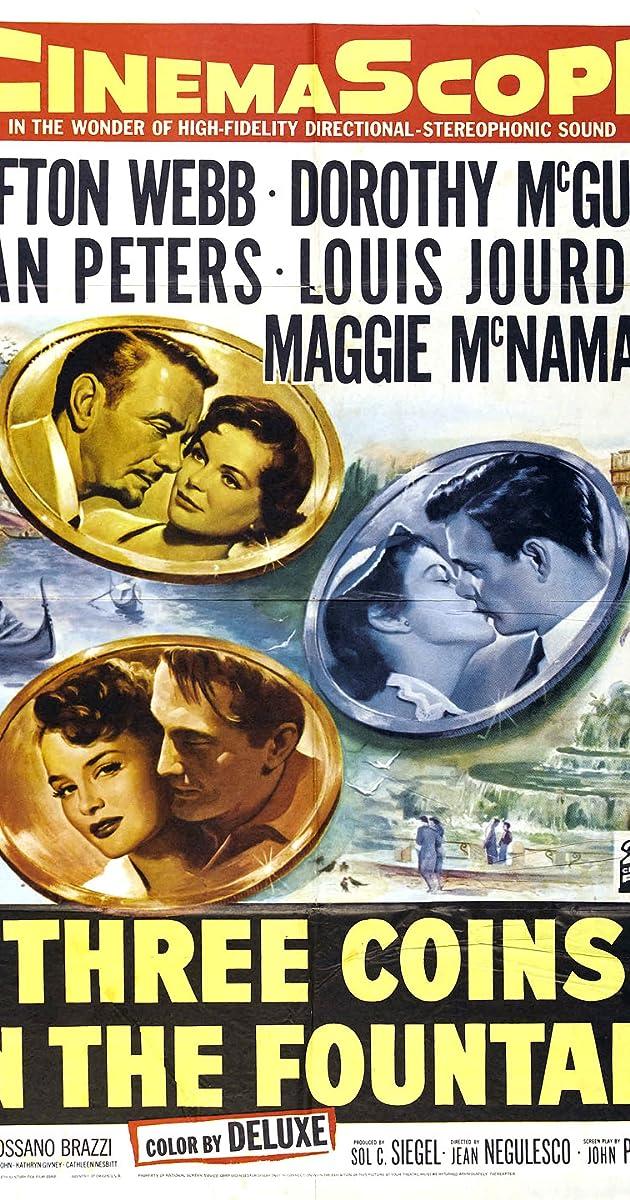 Three Coins in the Fountain (1954) - Soundtracks - IMDb