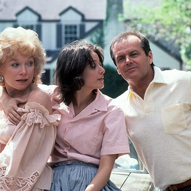 Jack Nicholson, Shirley MacLaine, and Debra Winger in Terms of Endearment (1983)
