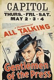 Gentlemen of the Press Poster
