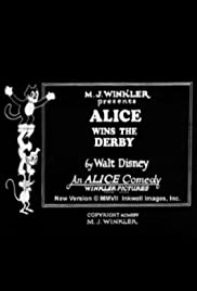 Alice Wins the Derby Poster