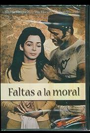 Faltas a la moral Poster
