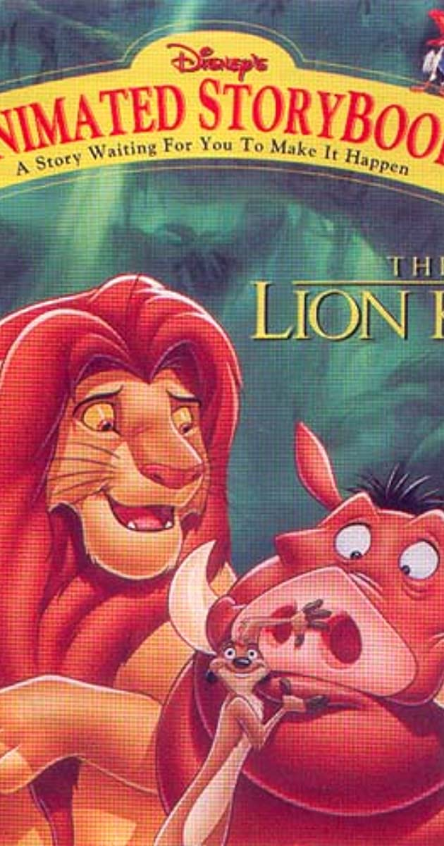 animated storybook  the lion king  video game 1994