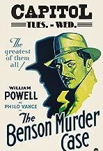 The Benson Murder Case