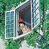 Kirsten Dunst and Minami Takayama in Kiki's Delivery Service (1989)