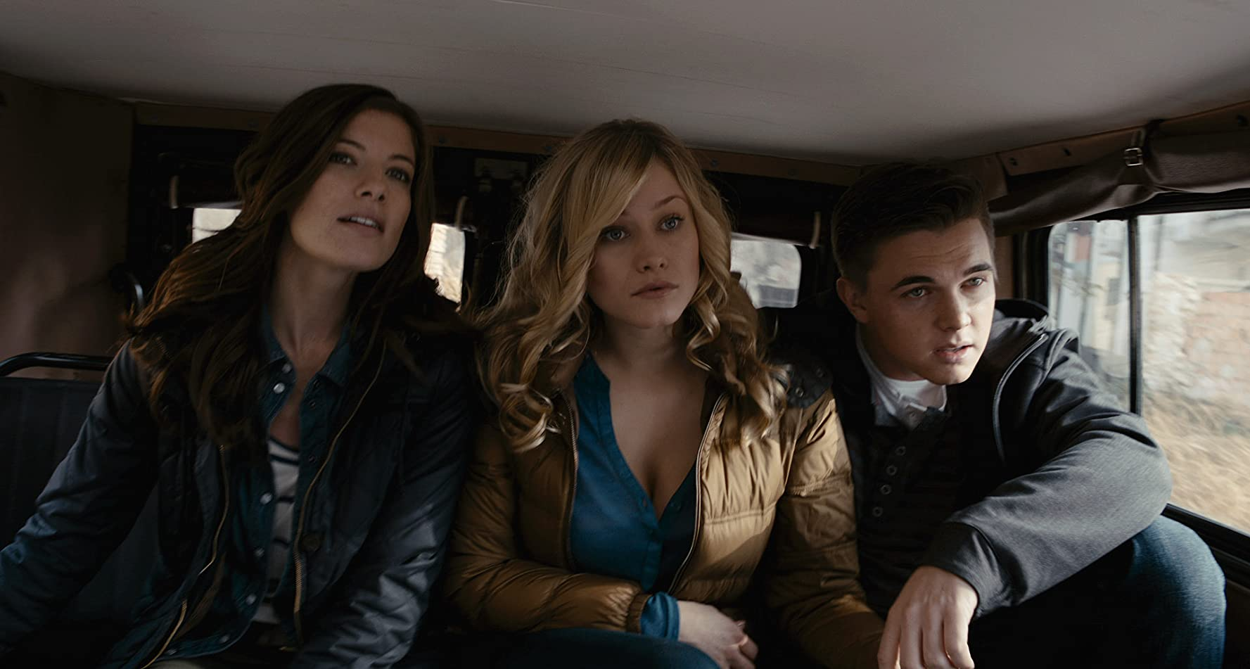 Jesse McCartney, Olivia Taylor Dudley, and Devin Kelley in Chernobyl Diaries (2012)