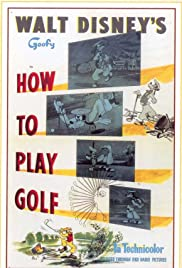 How to Play Golf Poster