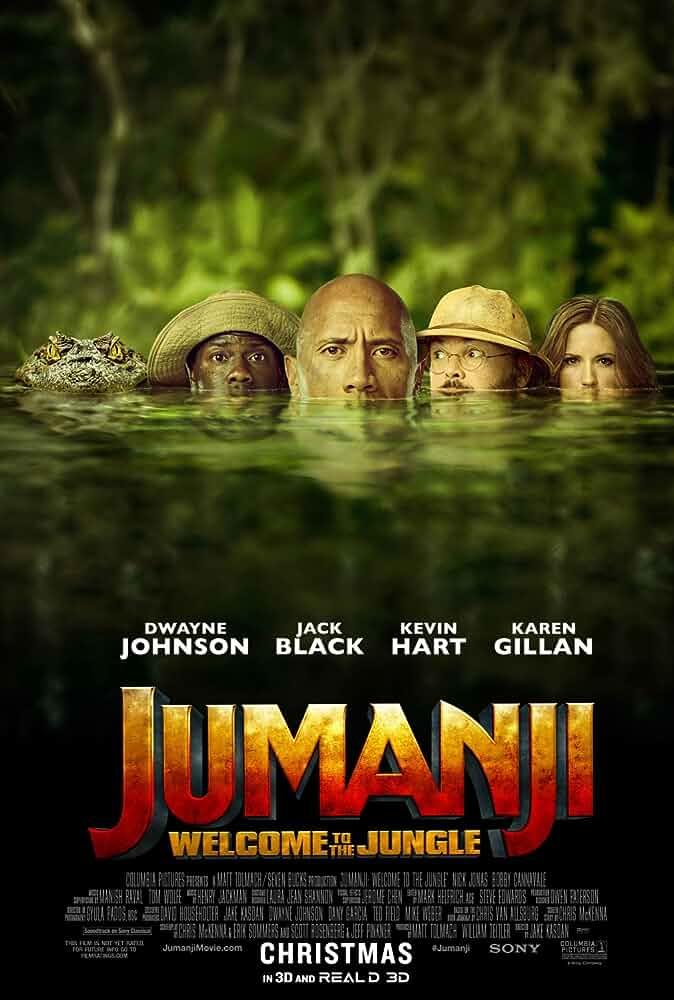 Jumanji : Welcome To The Jungle (2017) BRRip Dual Audio [ 720P + 480P ]