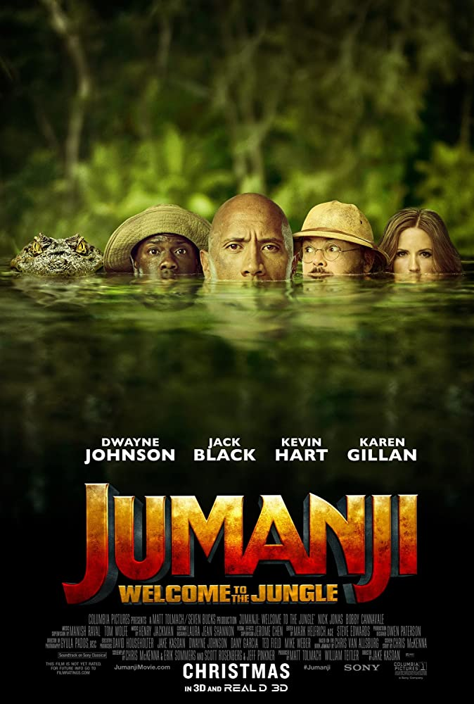 Jumanji: Welcome to the Jungle (2017) Latest Movie Free Download
