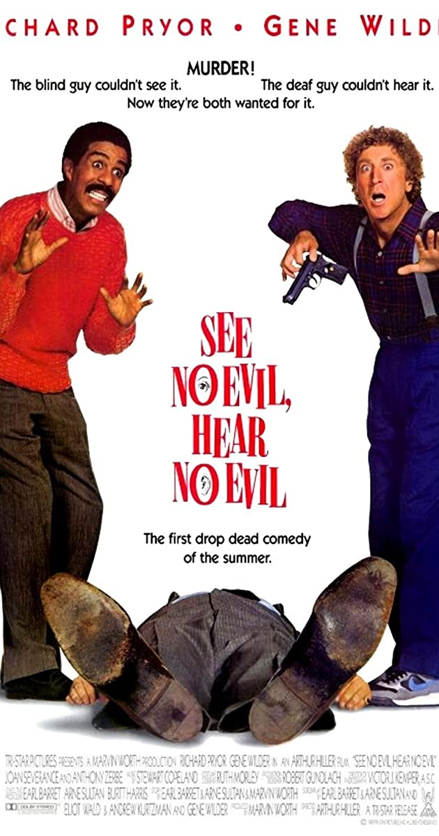 See No Evil Hear No Evil - 1989 Trailer
