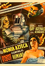 Robot vs. The Aztec Mummy & Swamp of the Lost Souls Poster