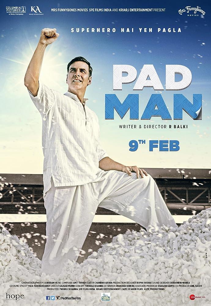 Pad Man Movie Poster