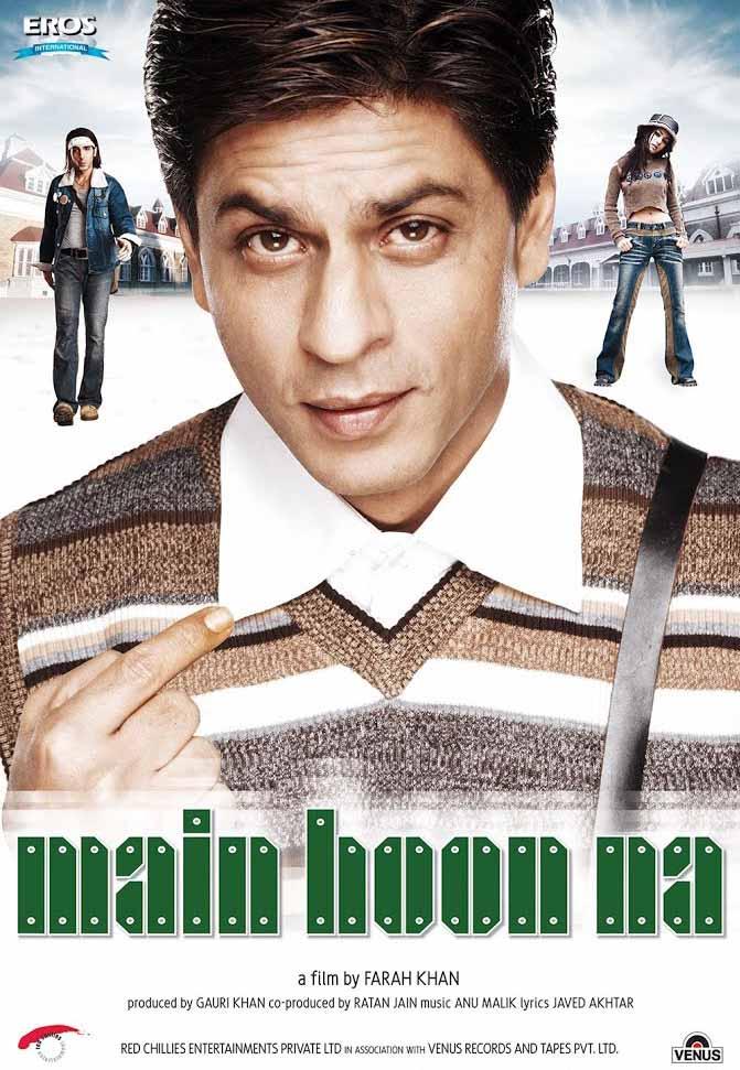 Main Hoon Na Movie Poster
