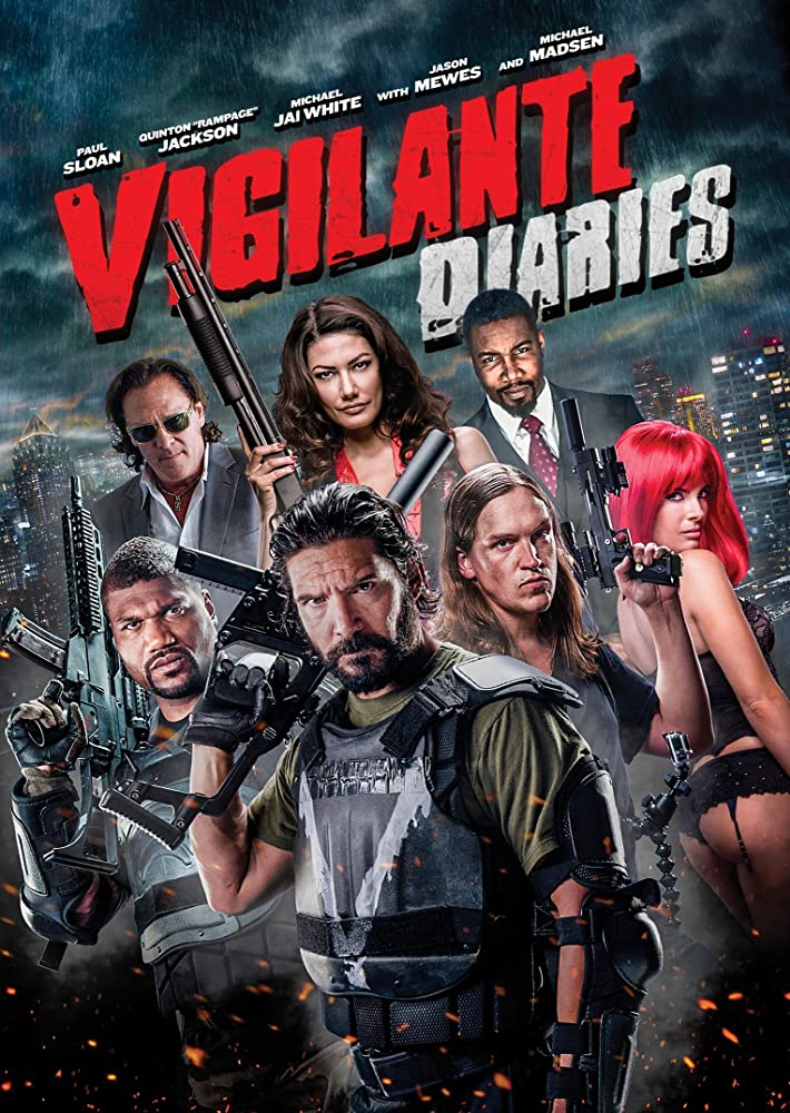 The Vigilante Diaries is a high octane action-adventure film featuring 90's movie heroes, explosive action, and international espionage. The film revo