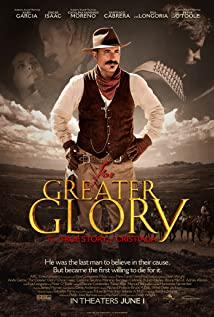 For Greater Glory Poster