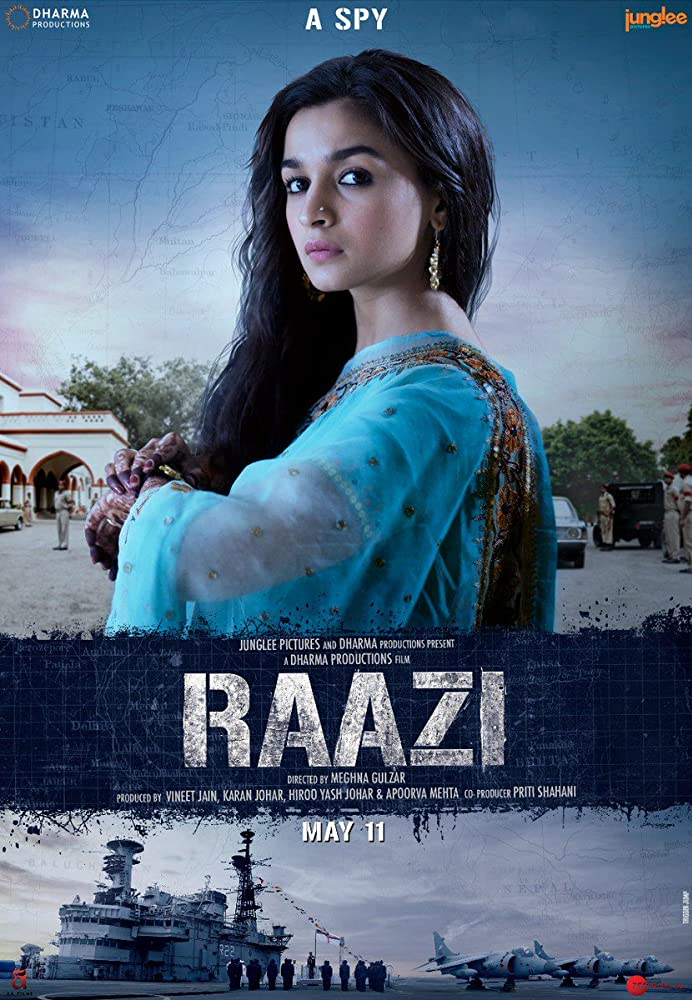 Raazi (2018) Bollywood Movie