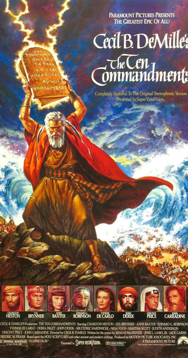 The Ten Commandments (1956) - Release Info - IMDb