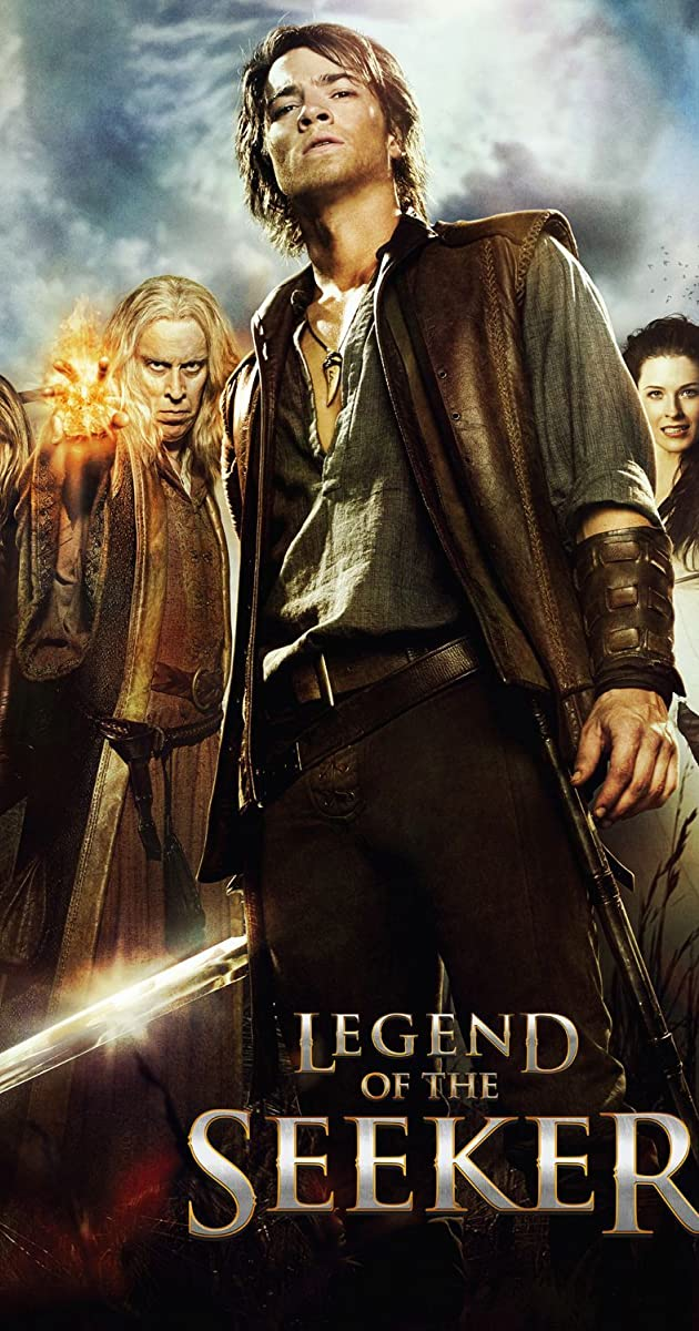 Book Cover Series Imdb : Legend of the seeker tv series  imdb