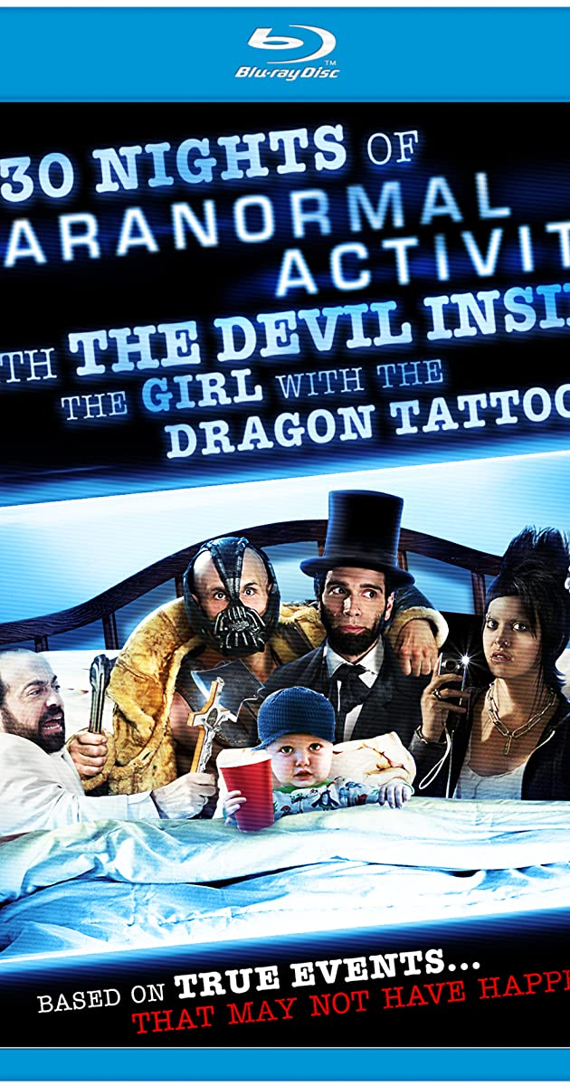 30 Nights of Paranormal Activity with the Devil Inside the Girl with the  Dragon Tattoo (2013) - IMDb