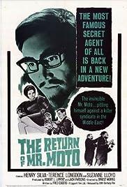 The Return of Mr. Moto Poster
