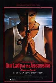 La virgen de los sicarios Poster