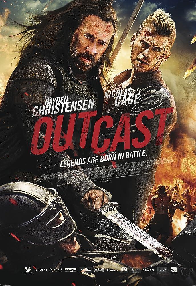 Outcast 2014 Dual Audio Hindi 300MB BluRay 480p