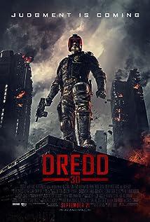 Dredd - Cartaz
