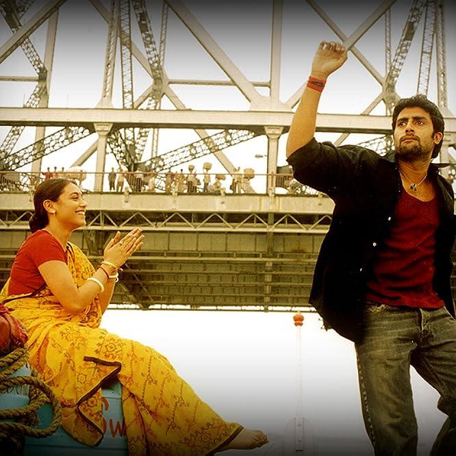 Abhishek Bachchan and Rani Mukerji in Yuva (2004)
