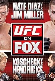 UFC on Fox: Diaz vs. Miller Poster