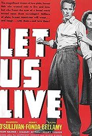 Let Us Live Poster