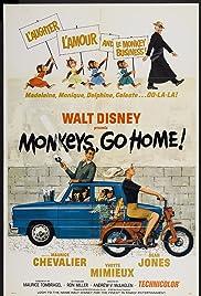 Monkeys, Go Home! Poster
