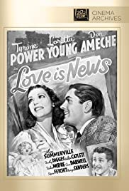 Love Is News Poster