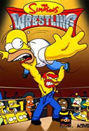 The Simpsons: Wrestling Poster